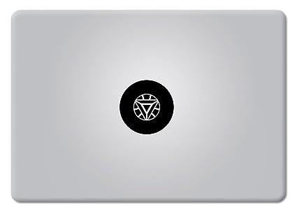 a54e6e3783bb Iron Man Arc Reactor Superhero Apple macbook decal Laptop Mac Air Pro  Retina sticker