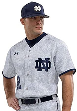 dac3486a915 Notre Dame Baseball 2016 Under Armour Game Jersey #42: Amazon.co.uk: Sports  & Outdoors