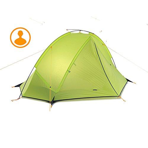 ラショナル狂乱断線QFFL zhangpeng テントシングルポールダブルテント野外野キャンプテント耐圧テント2色オプション トンネルテント ( 色 : B , サイズ さいず : Double tent )