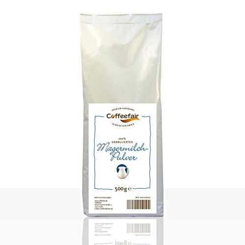 Coffeefair Magermilchpulver 100% granuliert 10 x 500g | automatengängig