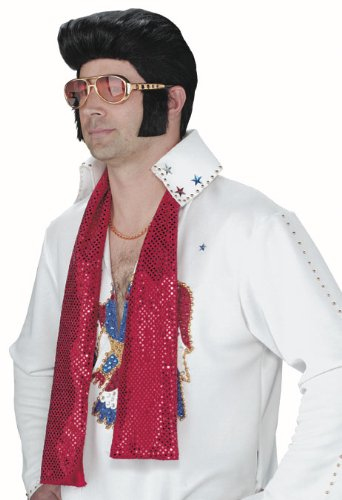Elvis Sunglasses With Sideburns (Adult Elvis Presley Costume Sunglasses)