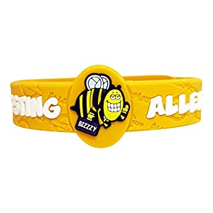 AllerMates Kids Medical Alert and Allergy Bracelet Children's Wristband - Many Varieties and Colors for All Conditions