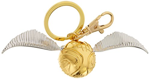 (HARRY POTTER Gold Snitch Pewter Key Ring)