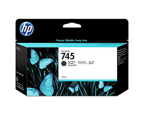 HP 745 F9J99A 130ml Matte Black Original Designjet Ink Cartridge