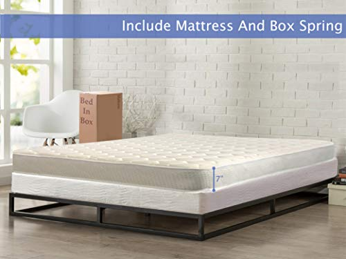 7 inch quilted full mattress - 9