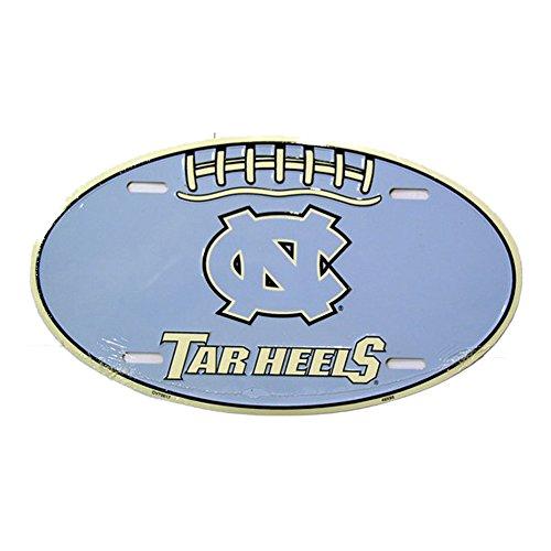 University of North Carolina Tar Heels Embossed Novelty Vanity Metal Oval License Plate Tag Sign OV70017