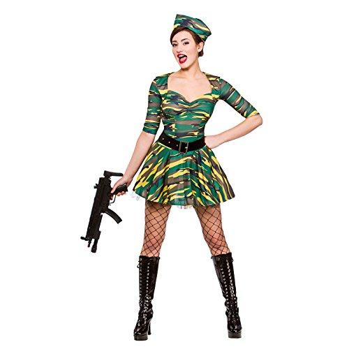 Corporal Cutie Ladies Fancy Dress Costume Halloween