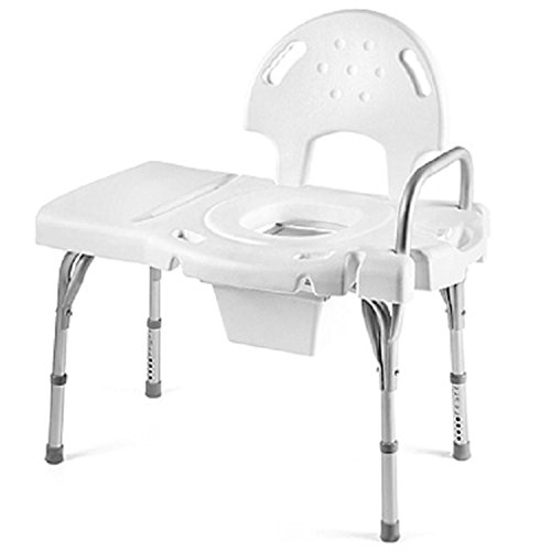 Invacare Bathtub Transfer Bench with Commode, Single (Invacare Bathtub)