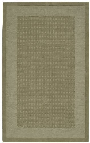Nourison Westport (WP20) Sage Rectangle Area Rug, 5-Feet by 8-Feet (5' x 8') (Rectangle Rug Sage)