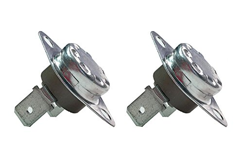 Siwdoy 2 Pack DC47-00016A Dryer Thermal Fuse Thermostat Assembly for Samsung Dryer AP4201894 (Thermal Fuse Assembly)