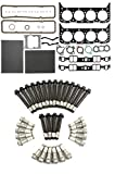 MAHLE Head Gasket Set & BOLTS compatible with MERCRUISER OMC CHEVY MARINE 305 5.0L w/perimeter