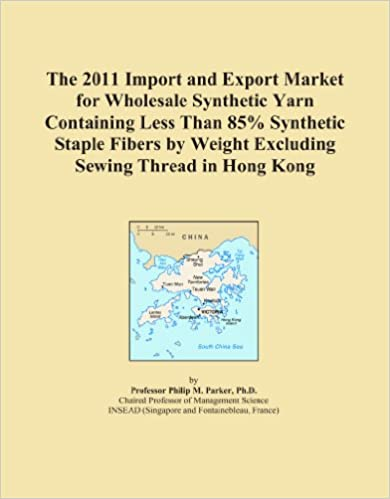 The 2011 Import and Export Market for Wholesale Synthetic Yarn Containing Less Than 85% Synthetic Staple Fibers by Weight Excluding Sewing Thread in Hong Kong