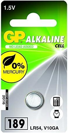 Gp Batteries 050189c1 Alkaline Knopfzelle Für V10ga Computer Zubehör