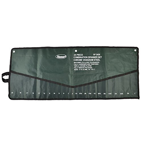 Tool Roll Spanner Storage Pouch Holder 24 Pocket MC21 by A B Tools