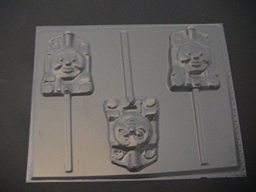 Train Lollipops (Thomas the Tank Train Engine Chocolate Candy Lollipop Mold)