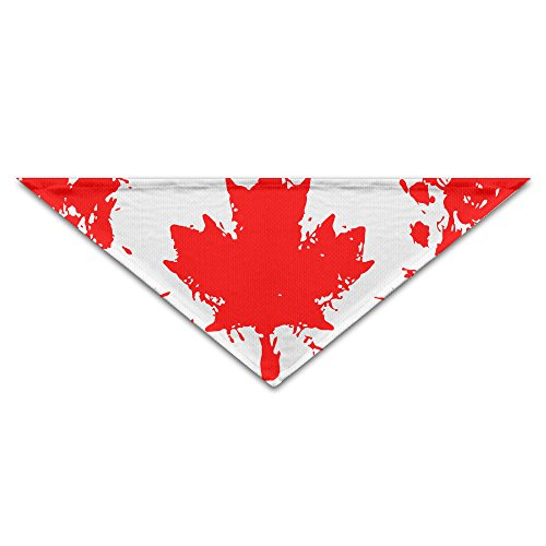 HDRAY Maple Canada Flag Dog Triangle Head Scarf Pet Bandana Collars - From Usps Canada