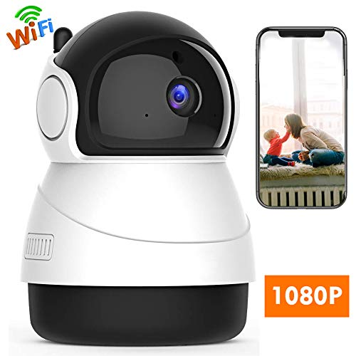 Hidgbaby HD IP Camera- Wireless Surveillance Camera with Night Vision/Two-Way Audio/PTZ, 2.4Ghz WiFi Indoor Home Security Dome Camera for Pet Baby, Remote Monitor with MicroSD Slot, Android,iOS App For Sale