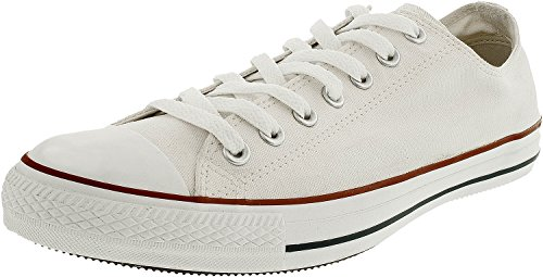 Converse Unisex Chuck Taylor All Star Low Top Optical White Sneakers - 11 B(M) US Women / 9 D(M) US - Price Optical