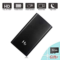 We give you a 32G SD card for free.Each package comes with a 32GB memory card.You don't need to buy again. Please note: Audio recording is not included due to Federal Law and Amazon policy.  A Multifunction 1080P Power bank Camera Would you l...