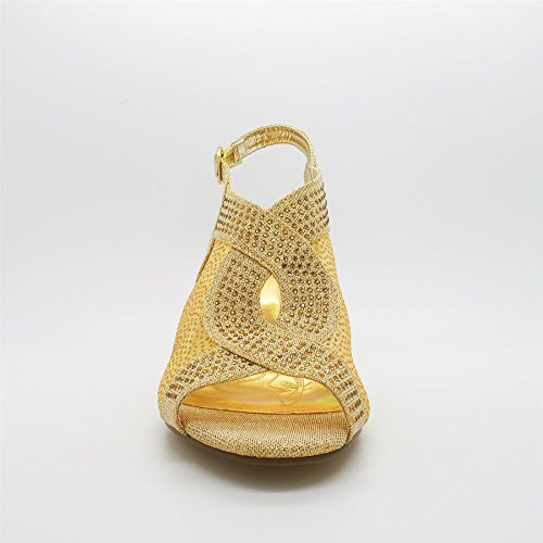 London Footwear - Zapatos de tacón  mujer Dorado - dorado