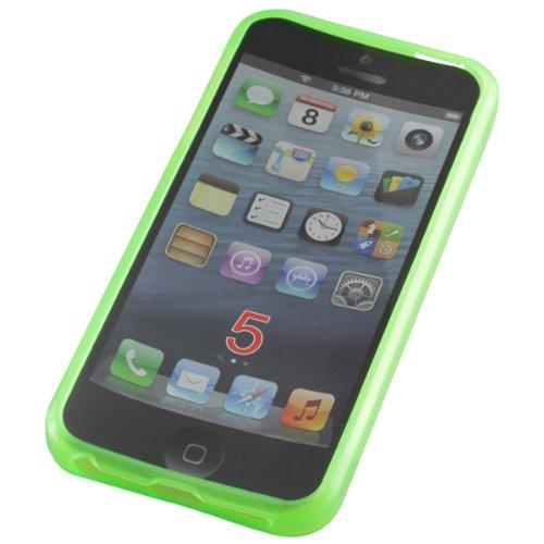 OTB TPU Case Compatible avec l'iPhone 5/iPhone 5S Vert