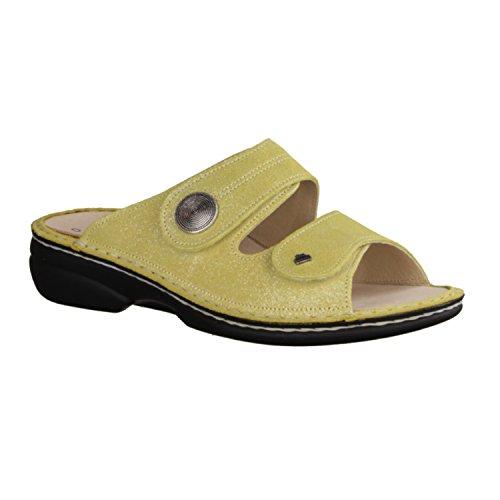 Finn Comfort Zanzibar amarillo