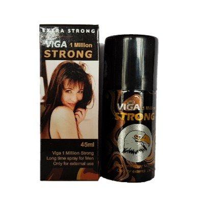 2 Lot × 2019 Hot Selling Strong Viga 1 Million Performance Delay Spray - 45ml