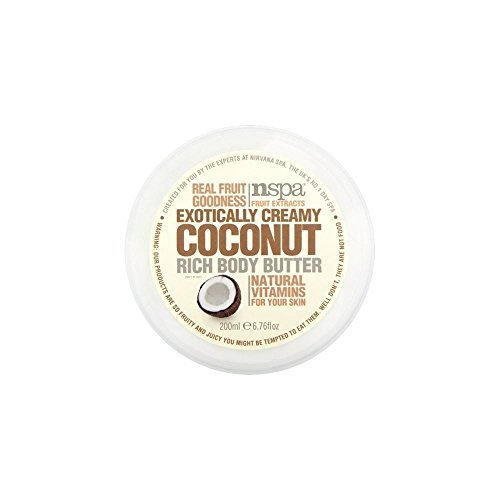 N-Spa Fruit Extracts Exotically Creamy Coconut Rich Body Butter (200ml) - Pack of - Town Coconut