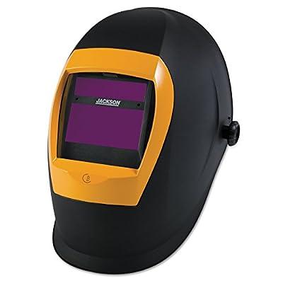Jackson Safety BH3 Auto Darkening Welding Helmet with Balder Technology, Black