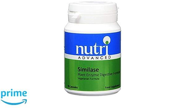 Nutri Advanced Similase Planta Enzimas Digestivo Fórmula ...