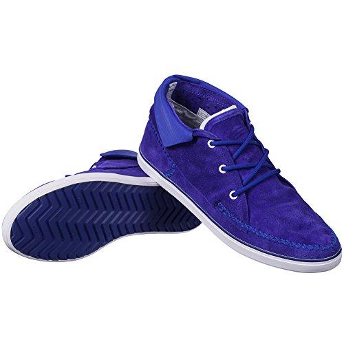 adidas adidas SLVR Winter Moc - Zapatillas de Piel para hombre Azul - azul