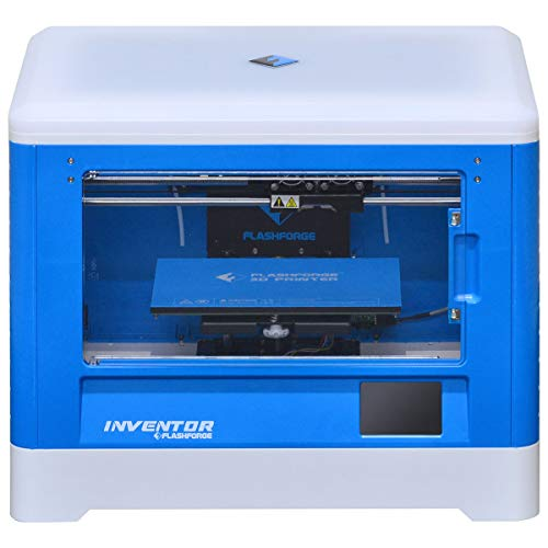 Impressora 3D Inventor, Flashforge 28872, Azul/Branco
