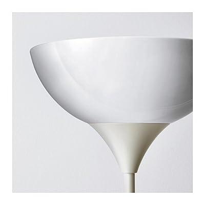 Ikea 301.451.29 Floor Uplight/Reading Lamp, White