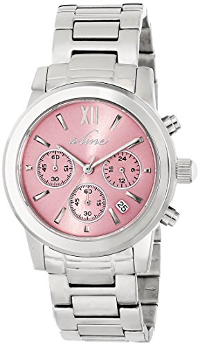 a_line Women's AL-80597-105 Sophi Chic Analog Display Japanese Quartz Silver Watch