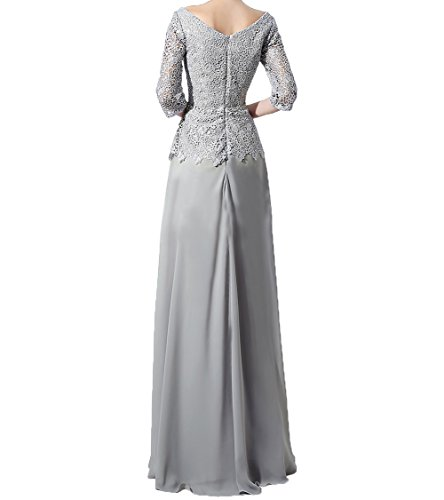 Brautmutterkleider Mutterkleider 3 Langarm Damen Charmant Festlichkleider Spitze Glamour Rot Lang 4 Abendkleider qwtx1cZ0Y