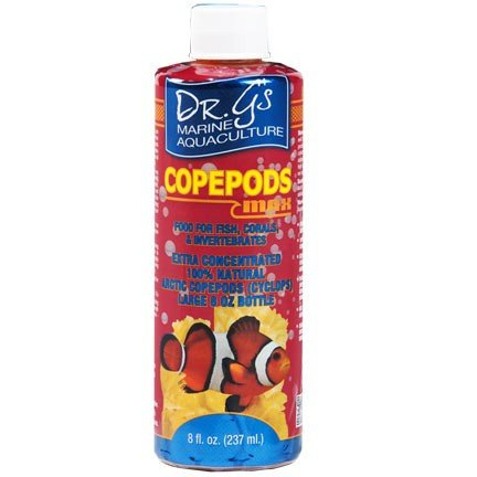 Dr Gs Copepods Max  Liquid Arctic Cyclops Highly Concentrated  Long Shelf Life  Economical  8 Oz By Unknown