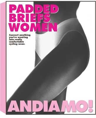 Andiamo Women's Padded Briefs, Small, ()