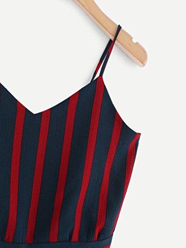 Damen Donna Ballerine Marine2 SANFASHION shirt122 SANFASHION Bekleidung Pn6xE7wvqa