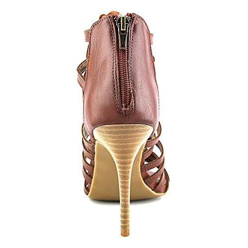 Rampage - Sandalias de vestir para mujer marrón