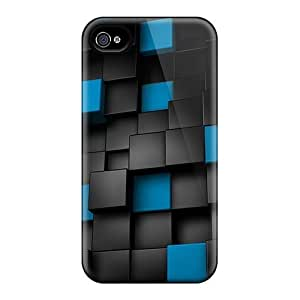 Excellent Design 3d Cubes Cases Covers For Iphone 6