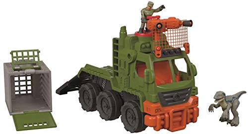 Fisher-Price Imaginext Jurassic World Dinosaur Hauler - Hauler Truck Playset