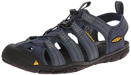 KEEN Men's Clearwater CNX Sandal, Midnight Navy/Gargoyle, 10.5 M US Clearwater CNX-M