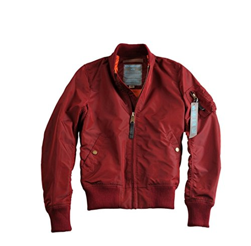 Blouson Alpha Bordeaux Tt 1 Industries W Ma nqfPwX
