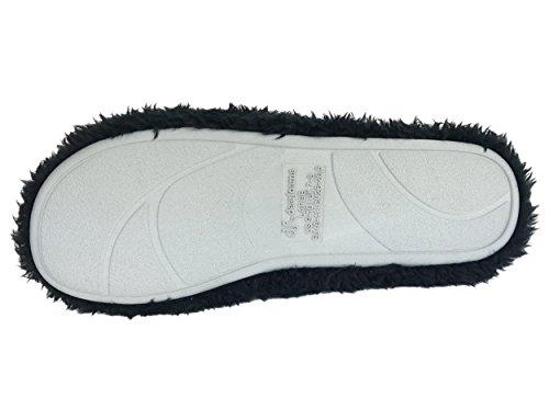 Pantofole Infradito In Spugna Nera Carafoams