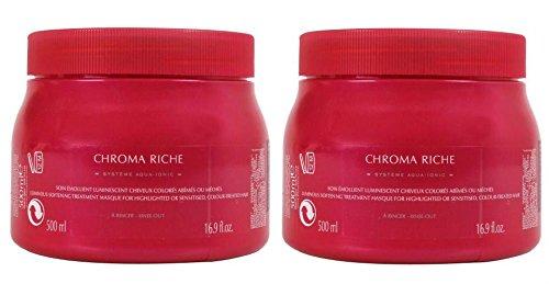Pack Chroma 2 : 2 X Masque Chroma Riche 500ml Kerastase Shipping Fast