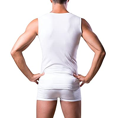 Dr.WALT - Men's Singlet Vest Produced with Technical Sports Yarns for Everyday use, Thermal, Ultralight and Sleeveless at Amazon Men's Clothing store
