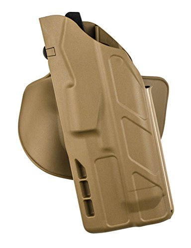 Safariland 7378 7TS ALS Concealment Holster, Flex-Paddle & Belt Loop Combo, Glock 17, 22, 31 w/ITI M3 Light, STX Flat Dark Earth, Right Hand