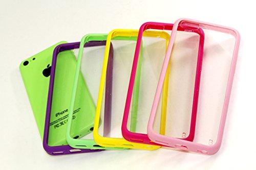 clear iphone 5c bumper - 1
