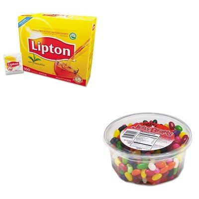 KITLIP291OFX70013 - Value Kit - Office Snax Jelly Beans  and