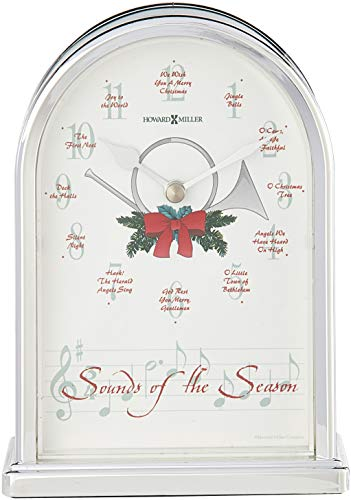 Howard Miller 645-687 Sounds of The Season Christmas Clock by ()